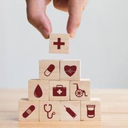 Gesundheit Pyramide